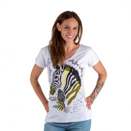 Dámske tričko s krátkym rukávom AUTHORITY-SAFIRY_DS white