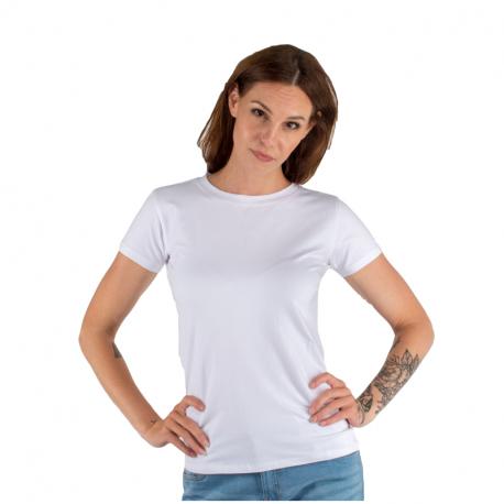 Dámské triko s krátkým rukávem AUTHORITY-T-BASIC_W_white