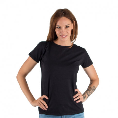 Dámske tričko s krátkym rukávom AUTHORITY-T-BASIC_W_black