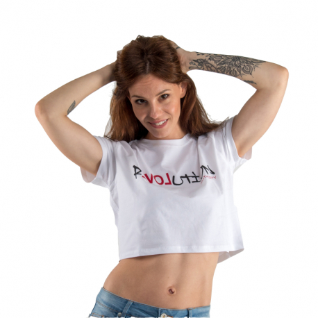 Dámské triko s krátkým rukávem AUTHORITY-T-LOVE_white