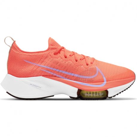 Dámská běžecká obuv NIKE-W Air Zoom Tempo Next% FK bright mango / white / purple pulse