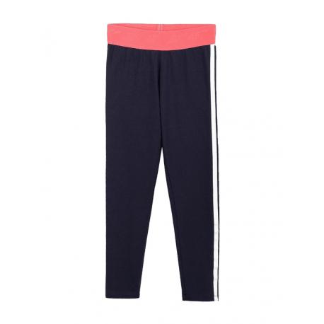 Dievčenské legíny 4F-GIRLS-leggings-HJL21-JLEG004-31S-Blue