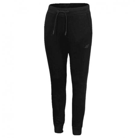 Chlapčenské teplákové nohavice 4F-BOYS-pants-HJL21-JSPMD001-20S-Black