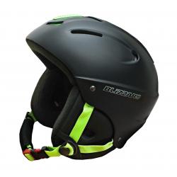 f5ed83f0c Lyžiarska prilba BLIZZARD MEGA ski helmet, black matt/neon green