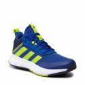 Juniorská rekreačná obuv ADIDAS ORIGINALS-Ownthegame 2.0 royal blue/semi solar slime/legend ink -