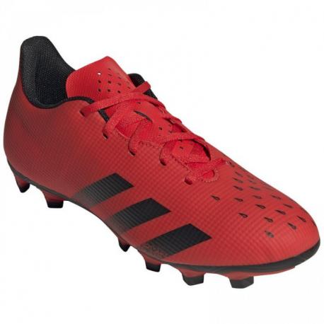 Pánske futbalové kopačky outdoorové ADIDAS-Predator Freak 4.0 M FG red/core black/red