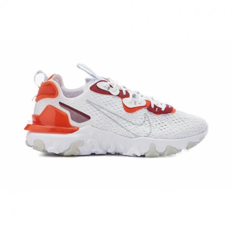 Pánská rekreační obuv NIKE-React Vision white / lt smoke grey / team orange (EX)