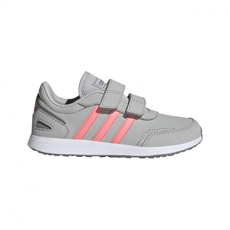 Detská rekreačná obuv ADIDAS-VS Switch 3 C grey/white/pink