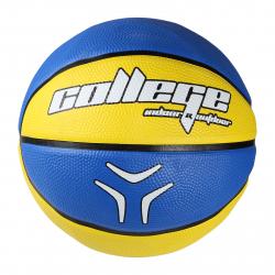 Basketbalový míč Lancast-COLLEGE yellow-blue