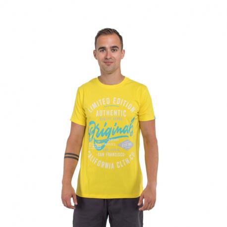 Pánské triko s krátkým rukávem AUTHORITY-ARTEOLY_DS yellow