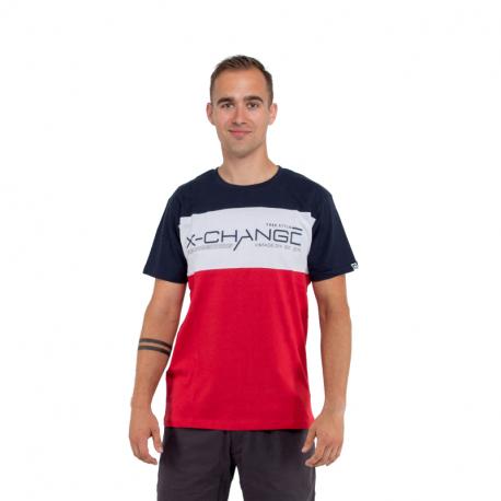 Pánske tričko s krátkym rukávom AUTHORITY-X-CHANGE_DS red