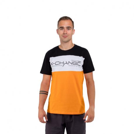 Pánské triko s krátkým rukávem AUTHORITY-X-CHANGE_DS orange