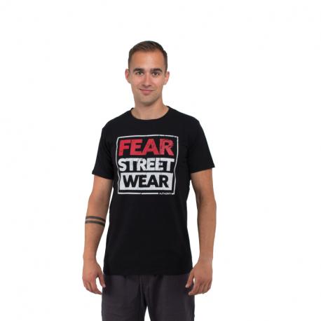 Pánské triko s krátkým rukávem AUTHORITY-T-FEAR_black