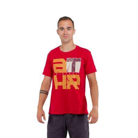 Pánské triko s krátkým rukávem AUTHORITY-TATHR_SR red