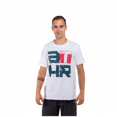 Pánské triko s krátkým rukávem AUTHORITY-TATHR_SR white