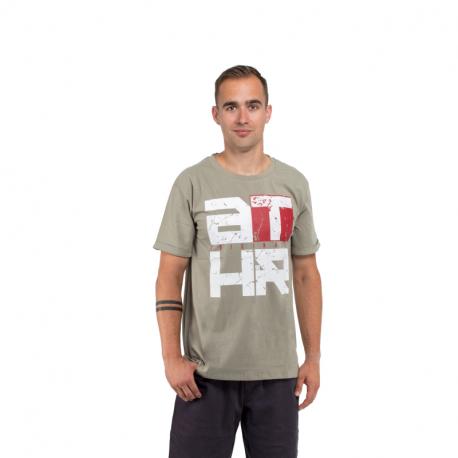 Pánské triko s krátkým rukávem AUTHORITY-TATHR_SR green