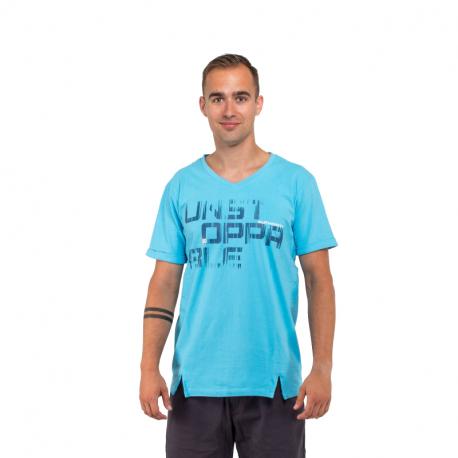 Pánské triko s krátkým rukávem AUTHORITY-TUNSTOP_SR blue