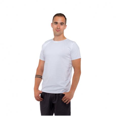 Pánské triko s krátkým rukávem AUTHORITY-T-BASIC_M_white