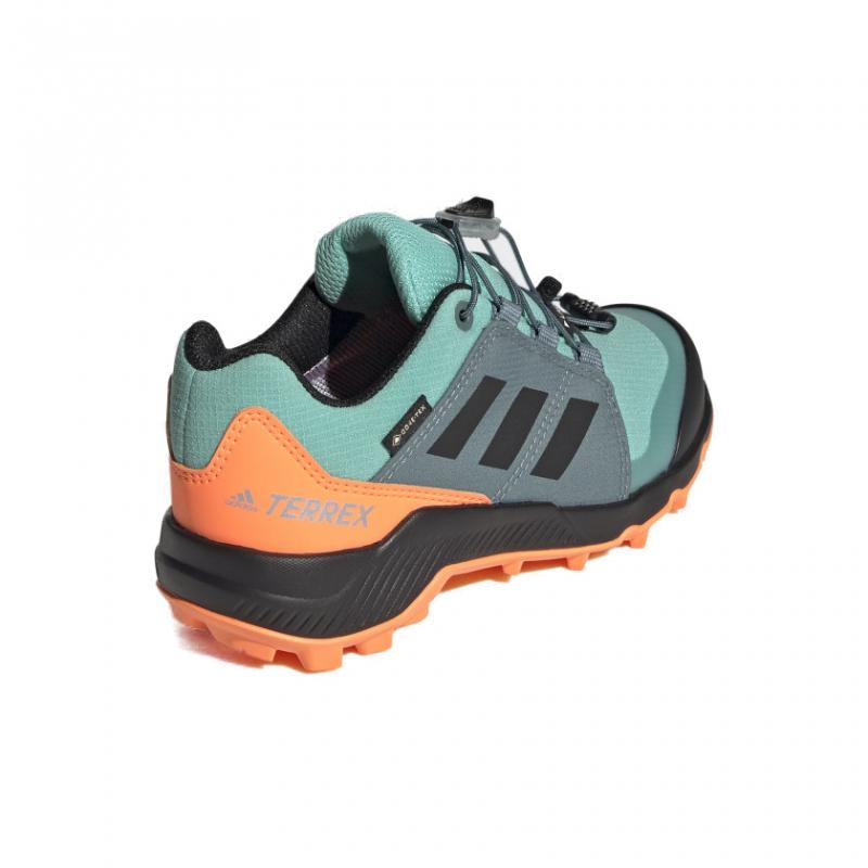Dámska nízka turistická obuv ADIDAS-Terrex GTX acid mint/core black/screaming orange -