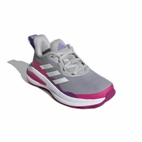 Dětská rekreační obuv ADIDAS-FortaRun grey two / cloud white / shock pink