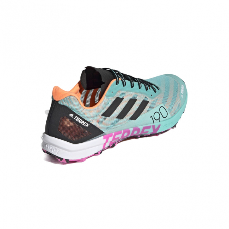Pánska bežecká trailová obuv ADIDAS-Terrex Speed Pro acid mint/core black/screaming pink -