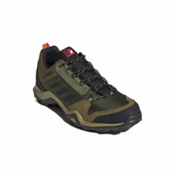 Pánska nízka turistická obuv ADIDAS-Terrex AX3 wild pine/vivid green/vivid red (EX)