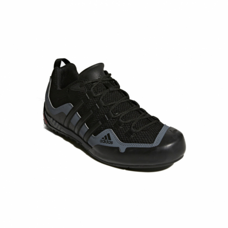 Pánska nízka turistická obuv ADIDAS-Terrex Swift Solo core black/core black/lead