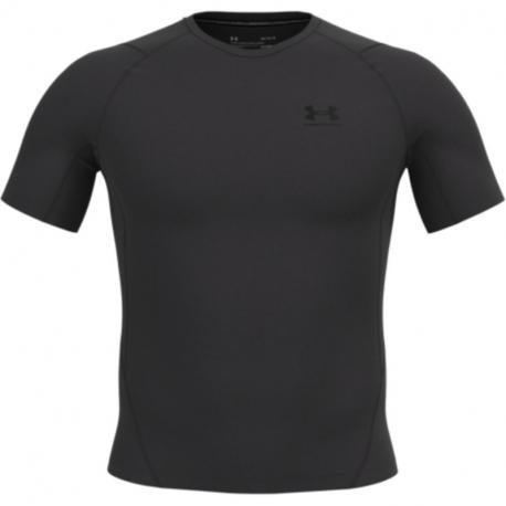 Pánské kompresní tričko s krátkým rukávem UNDER ARMOUR-UA HG Armour Comp SS-GRY