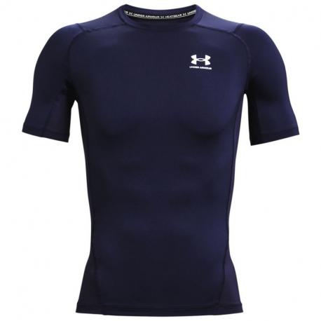 Pánské kompresní tričko s krátkým rukávem UNDER ARMOUR-UA HG Armour Comp SS-NVY