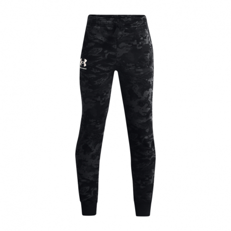 Chlapecké teplákové kalhoty UNDER ARMOUR-UA Rival Flc ABC Camo Jgrs-BLK