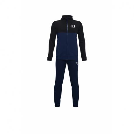 Chlapecká tréninková souprava UNDER ARMOUR-UA CB Knit Track Suit-NVY