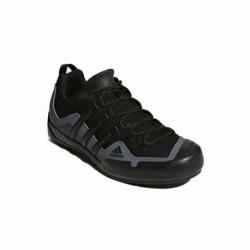 Pánska nízka turistická obuv ADIDAS-Terrex Swift Solo core black/core black/lead (EX)