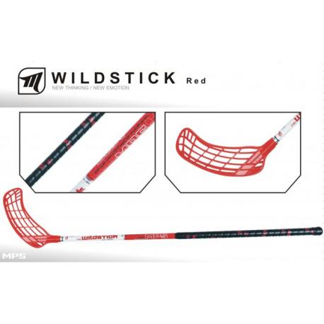Florbalová hokejka MPS-WILDSTICK Red L