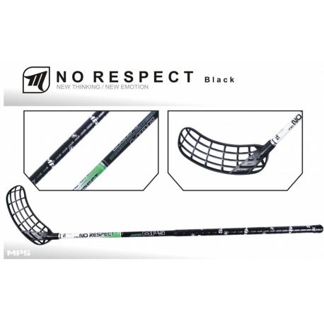 Florbalová hokejka MPS-NO RESPECT Black L