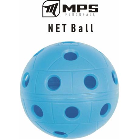 Florbalová loptička MPS-Lopta modrá