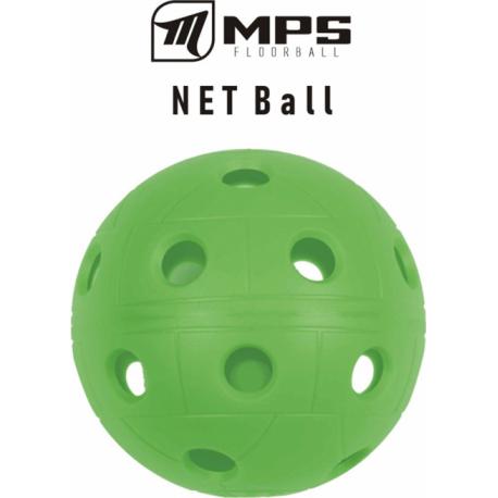 Florbalová loptička MPS-Lopta zelená