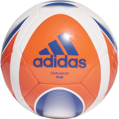 Fotbalový míč ADIDAS-Starlancer PLUS WHITE / SOLRED / ROYBLU