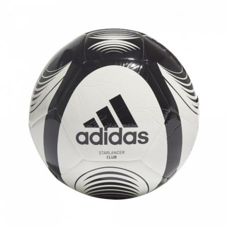 Futbalová lopta ADIDAS-STARLANCER CLB WHITE/BLACK