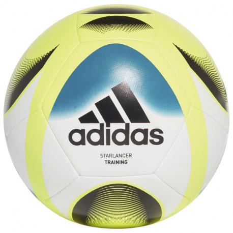 Futbalová lopta ADIDAS-STARLANCER TRN WHITE/TMSOYE/ACTTEA/