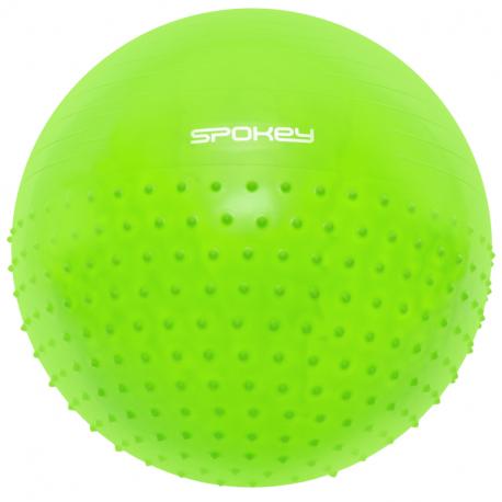 Gymnastický míč SPOKEY-HALF FIT 2v1 65 cm