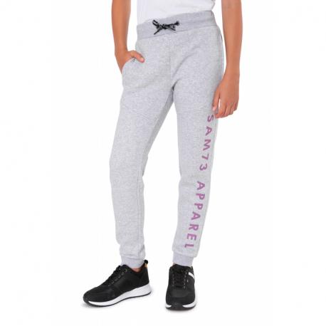 Dievčenské teplákové nohavice SAM73-CHRISTINE-401-Grey