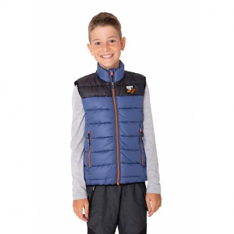 Chlapčenská vesta SAM73-ROGER-235-Blue