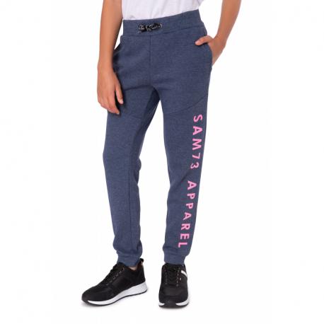 Dívčí teplákové kalhoty SAM73-CHRISTINE-230-Blue
