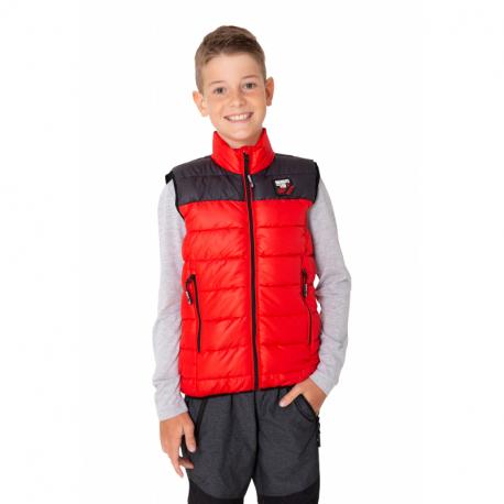 Chlapčenská vesta SAM73-ROGER-137-Red
