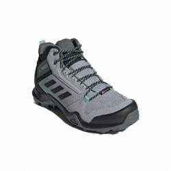 Dámska členková turistická obuv ADIDAS-Terrex AX3 MID GTX W halo silver/core black/acid mint