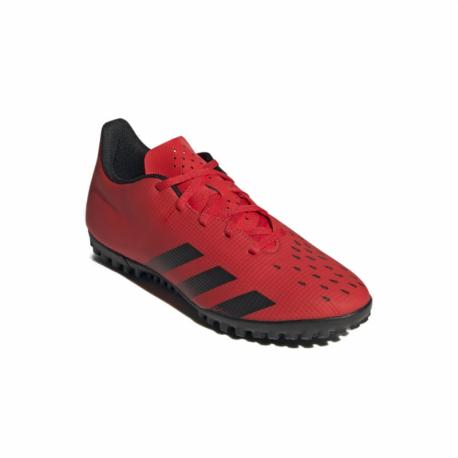 Pánske futbalové kopačky turfy ADIDAS-Predator Freak .4 M TF red/core black/solar red