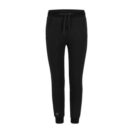 Dívčí teplákové kalhoty VOLCANO-Spodní DRESOWE N-MILS JUNIOR-700-BLACK