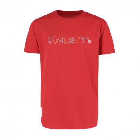 Chlapecké tričko s krátkým rukávem VOLCANO-dres T-kužely JUNIOR-400-RED