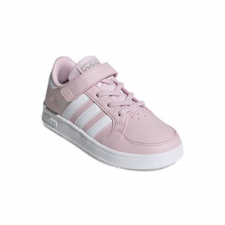 Dětská rekreační obuv ADIDAS-Breaknet C pink / white / silver