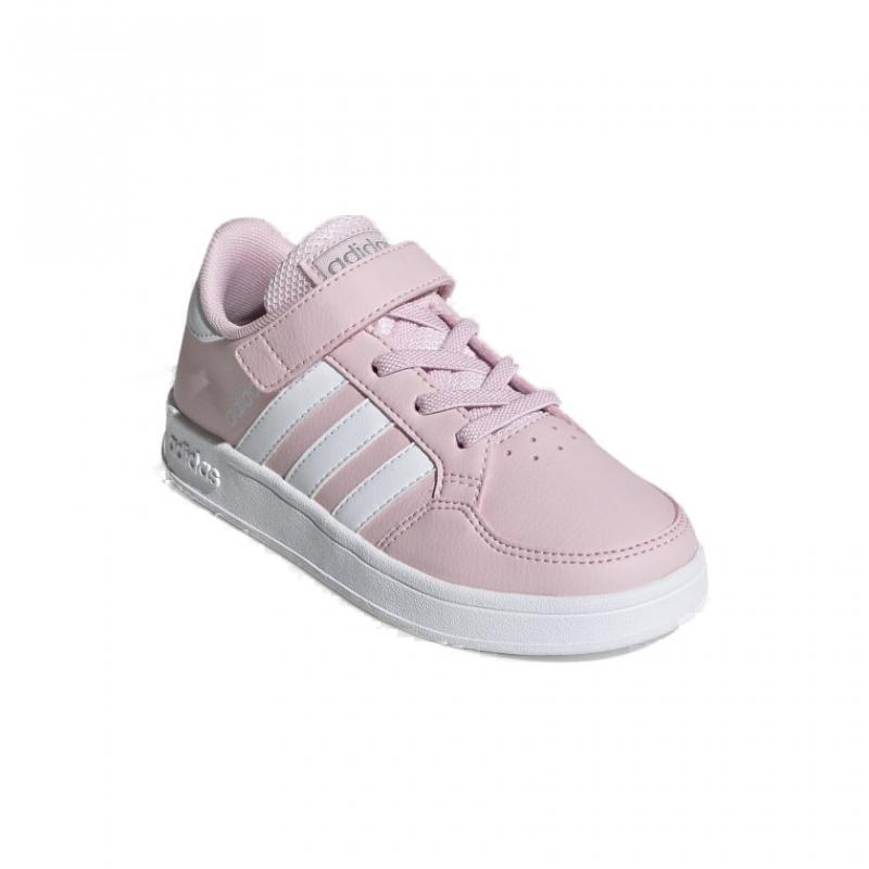 ADIDAS-Breaknet C pink/white/silver 35 Ružová